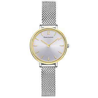 Reloj mujer Pierre Lannier relojes NOVA cuarzo Dor 014J728 - pulsera de acero de plata