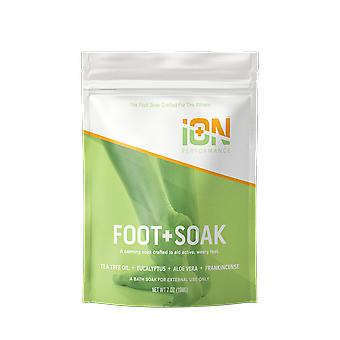 Ion Foot Soak For Active, Fatigued Feet 7.5 Oz Travel Size 6 Pack