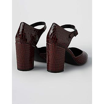 Marque - trouver. Block Heel Square Toe, Women-apos;s Mary Janes
