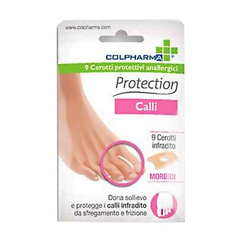 Hypoallergenic Protective Plasters -Calli 9 units