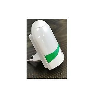 Nattlampa Med Sensor (Grön)