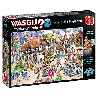 Jumbo Wasgij 20 Mountain Mayhem - 1000 Piece Jigsaw