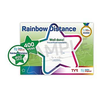 ASA Swim England Rainbow Distance Swimming Award - 400M