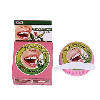 Herb Mint Tooth Whitening, Natural Herbal Tooth Paste, Remove Stain,