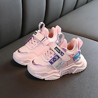 Leather Comfortable Baby Sneakers Shoes, Autumn Winter Sports Toddler Sneakers