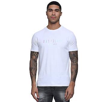 Polisen Egnar 7578 Metallic Holographic Logo Print Halvärmad T-shirt