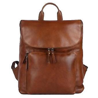 Ashwood Leather Business Travel Rucksack - Tan