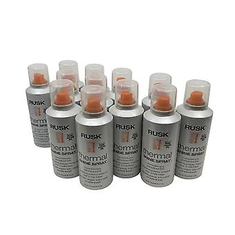 Rusk Thermal Shine Spray Argan Oil Body & Shine 4.4 OZ(Pack of 12)