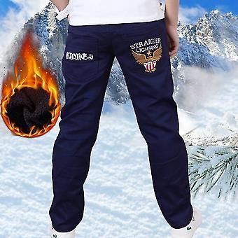Přidat vlna horké zimní zahušťovat písmena kalhoty kalhoty