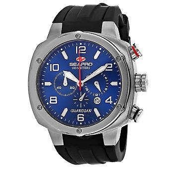 Seapro Guardian Chronograph Quartz Blue Dial Men's Watch SP3342