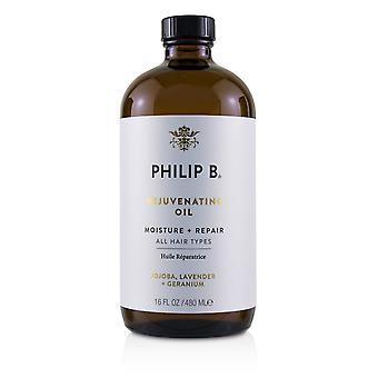 Rejuvenating oil (moisture + repair all hair types) 226058 480ml/16oz