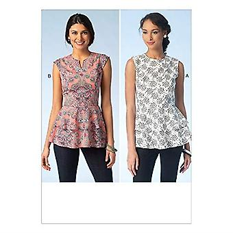 Kwik Sew Sewing Pattern 4112 Misses Ladies Tops Size XS-XL