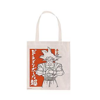 Dragon Ball Super Goku Canvas Tote Bag