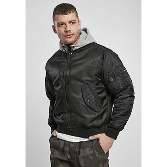 Hooded Ma1 Bomber Jacket