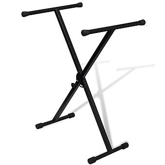 Adjustable Single Rigid Keyboard Stand X Frame
