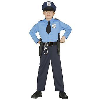 Déguisement policier musclé garçon