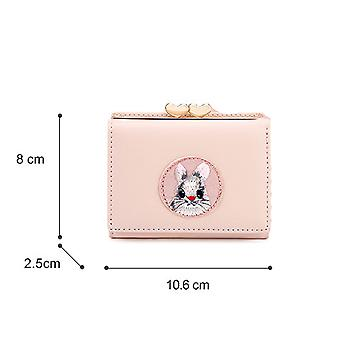 Simple multi-card short women wallet