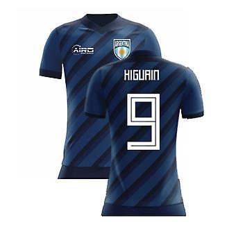 2020-2021 الأرجنتين مفهوم قميص (Higuain 9) - أطفال