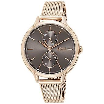 Hugo Boss Analog Watch Quartz Woman with Stainless Steel Strap 1502536