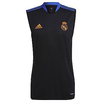 Real Madrid 2021-2022 Hihaton Jersey (musta)