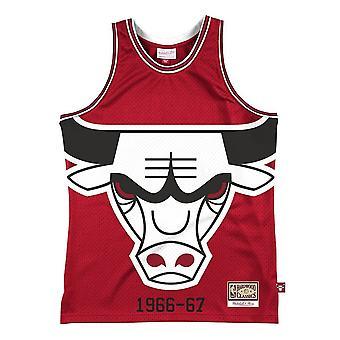 Mitchell & Ness Blåst ut Nba Chicago Bulls Jersey Swingman MSTKBW19146CBURED1 basketball hele året menn t-skjorte