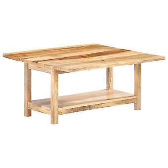 Couchtisch erweiterbar 90X(45-90)X45 Cm Massive Mango Holz