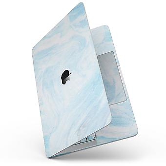 """Blue 191 Textured Marble - 13"""" Macbook Pro Without Touch Bar Skin Kit"""