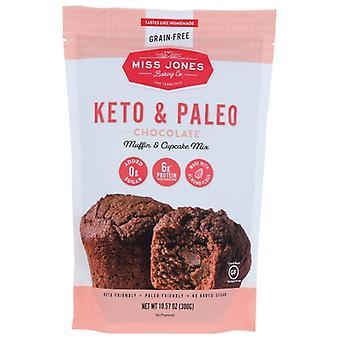 Miss Jones Baking Co Mix Chocolate Muffin, Case of 6 X 10.57 Oz