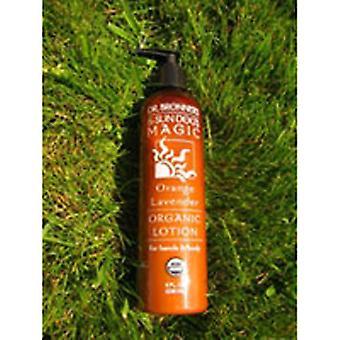 Dr Bronner's Organic Lotion, Coconut Lavender EA 1/8 OZ