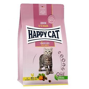 Happy Cat Junior Geflügel (Katzen , Katzenfutter  , Trockenfutter)