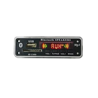 Handsfree Car Usb Bluetooth Mp3 -soitin, dekooderilevy, moduulin kaukosäädin,