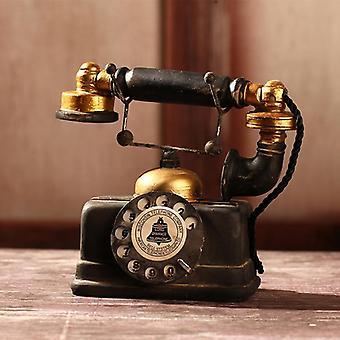 Eurooppalainen retro vintage-nastapuhelinsarja luova sisustus