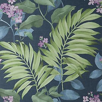 Crown Eden trooppinen sininen taustakuva M1649