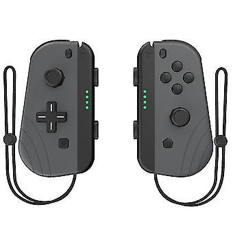 وحدة تحكم لاسلكية اليسار واليمين بلوتوث Gamepad للتبديل Nintend (رمادي)