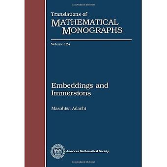 Embeddings and Immersions (Translations of Mathematical Monographs)
