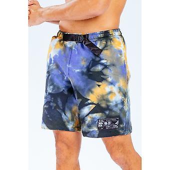 Hype Mens Tie Dye Logo E.T Shorts