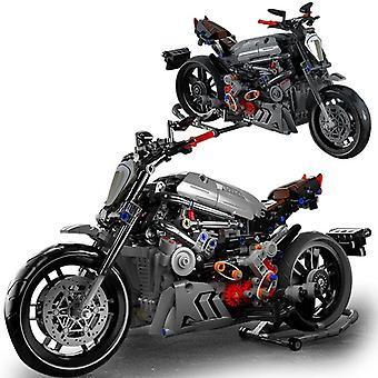 High-Tech Creative Building Blocks Motorradmodell