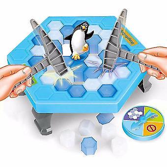 Quebra de gelo Salvar o Pinguim Crianças Adultos Presentes Jogo de Mesa de Quebra de Cabeça