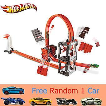 Track Suit Bouwsteen Auto Speelgoed, Track Model Dww96 Multifunctioneel Speelgoed