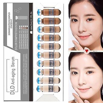 Korean Skin Whitening DLD Liquid Foundation Meso Brightening Skin Care For Wrinkles|Body Glitter