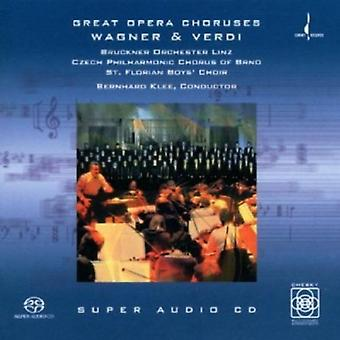 Wagner/Verdi - Wagner & Verdi: Great Opera Choruses [SACD] USA import