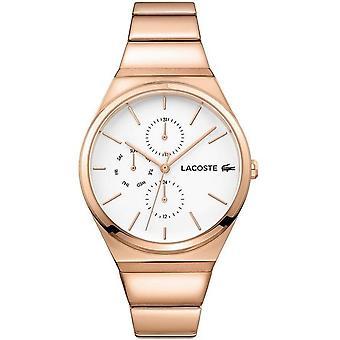 Lacoste Rose Gold Zegarek damski ze stali nierdzewnej 2001036