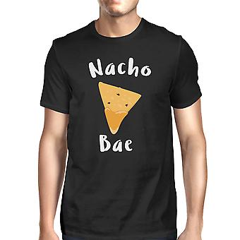 Nocho Bae mænd sort T-shirt sjove gaveideer til Valentinsdag