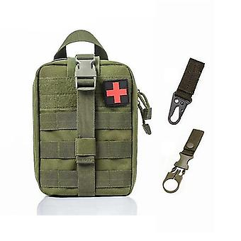 Bolsa médica táctica de primeros auxilios del sistema Molle para emergencias (A-a Bag And 2 Hook)
