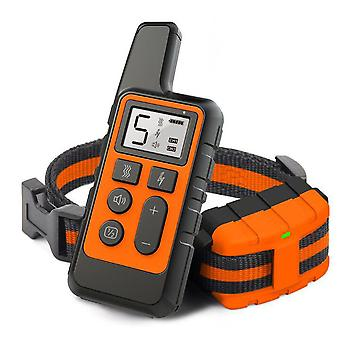 Waterproof Dog Training Collar Pet 500m Afstandsbediening oplaadbaar