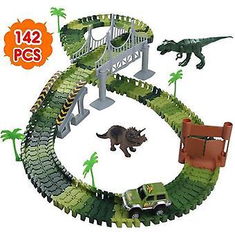 Race Track Dinoszaurusz Játékautó > Rugalmas pályajáték, 2 dinoszaurusz