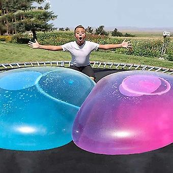 سوبر حجم فقاعة الكرة لعبة للأطفال الكبار نفخ المياه الكرة بيتش