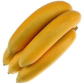 1pack מלאכותי דמוי חיים בננה קישוט מסיבת פירות מזויפים קישוט פסטיבל