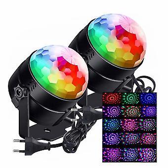 2pcs Led Disco Bühne Licht Bluetooth Disco Party Projektor Licht für Kinder