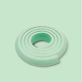 2m kulmasuojat lasten turvallisuuden, pöydän ja huonekalujen kulmasuojat, suojaa vauvoja ja lapsia vihreät iskut (